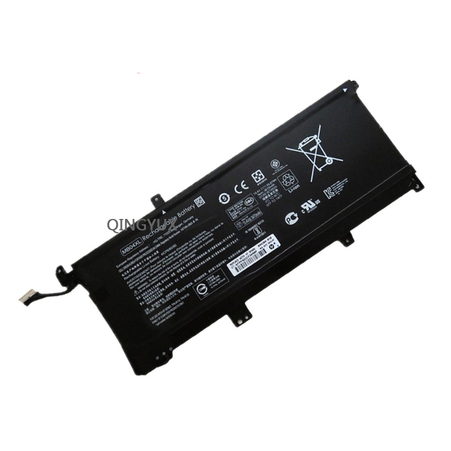 QINGYUX New 15.4V 55.67Wh MB04XL Laptop Battery for HP Envy X360 M6 PC 15 Convertible HQ TRE 843538 541 Series Notebook Battery