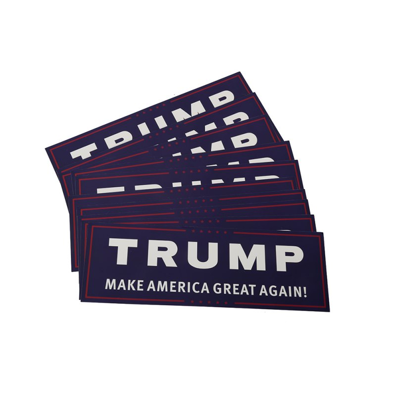 10 Pack US general election stickers font b Trump b font Make America Great Again Bumper