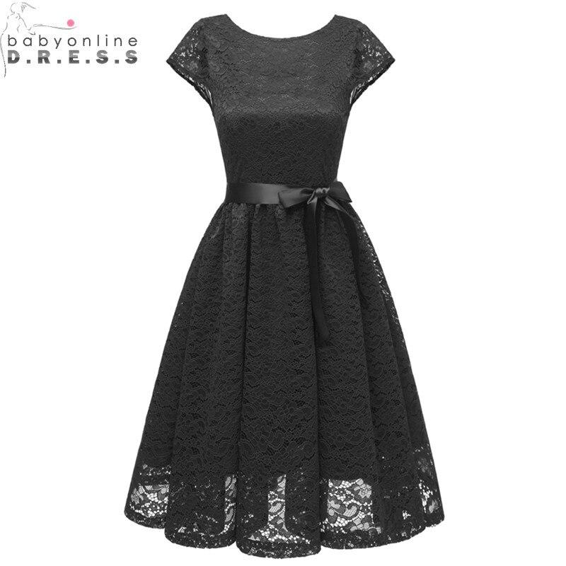 Short Black Elegant Evening Dresses