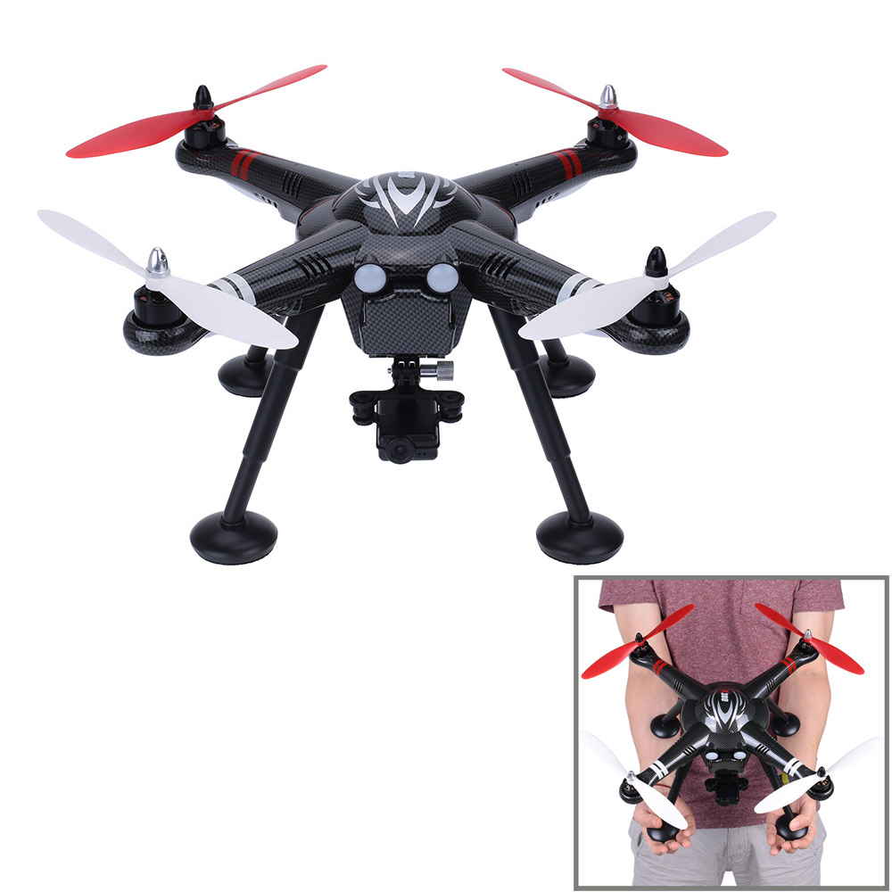 2017 New RC Drone X380 - B 2.4G GPS Gimbal 2.4G Aerial 1080P HD Sport Camera 6 Axis Gyro RC Quadcopter RTF yuneec q500 typhoon quadcopter handheld cgo steadygrip gimbal black