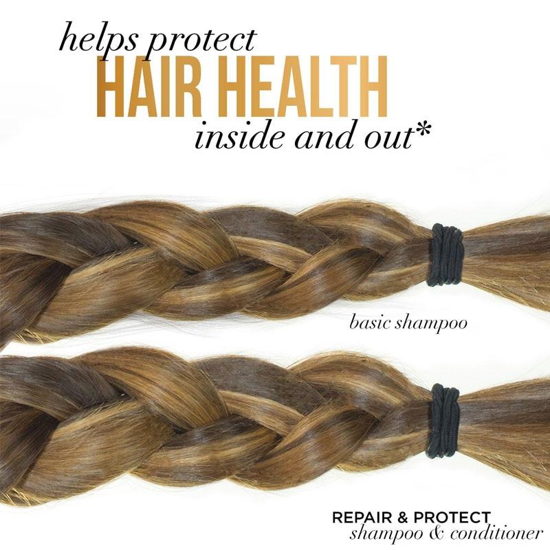 Ekstrak Zaitun Kerosakan Menyuburkan Syampu diperbaiki Melicinkan & - Penjagaan rambut dan penggayaan - Foto 5