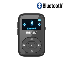 MP3 Player Bluetooth Walkman RUIZU X26 Mini Clip 8GB Can Play 30 Hours Support SD Card FM Radio Voice Recorder Mp3 Music Player(China)