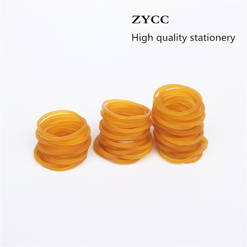 200 PCS/bag High Quality Office Rubber Ring Rubber Bands Strong Elastic Stationery Holder Band Loop School Office Supplies(China)