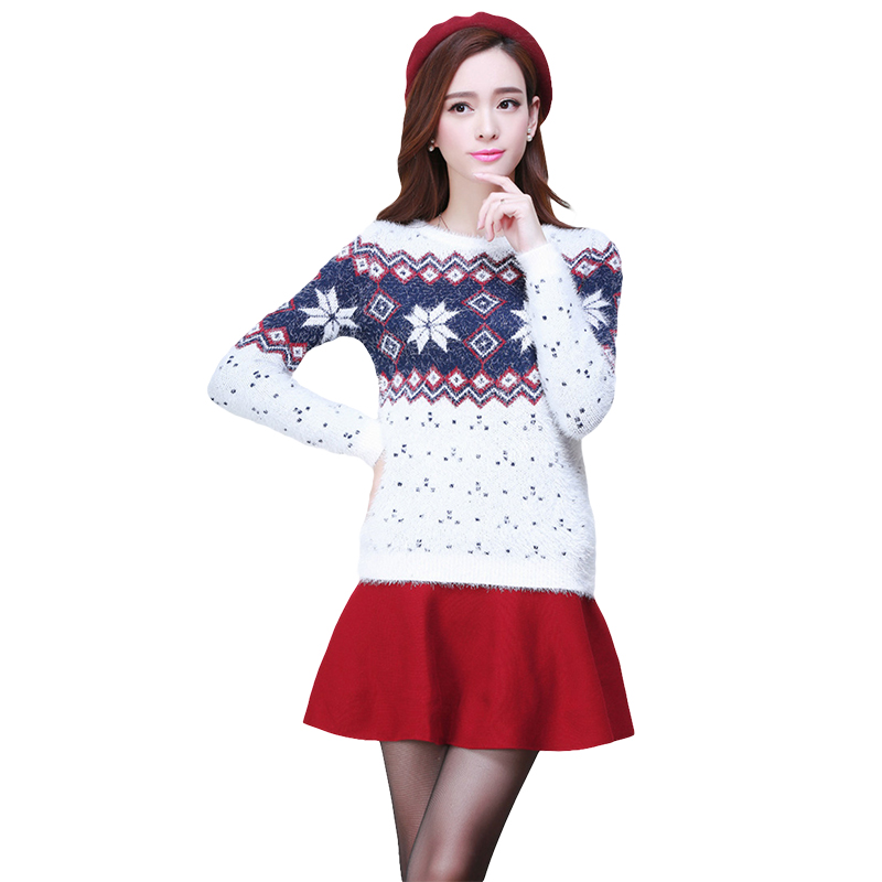 Christmas Tree Sweater Womens: New Winter Women Sweaters And Pullovers Long Sleeve Couple