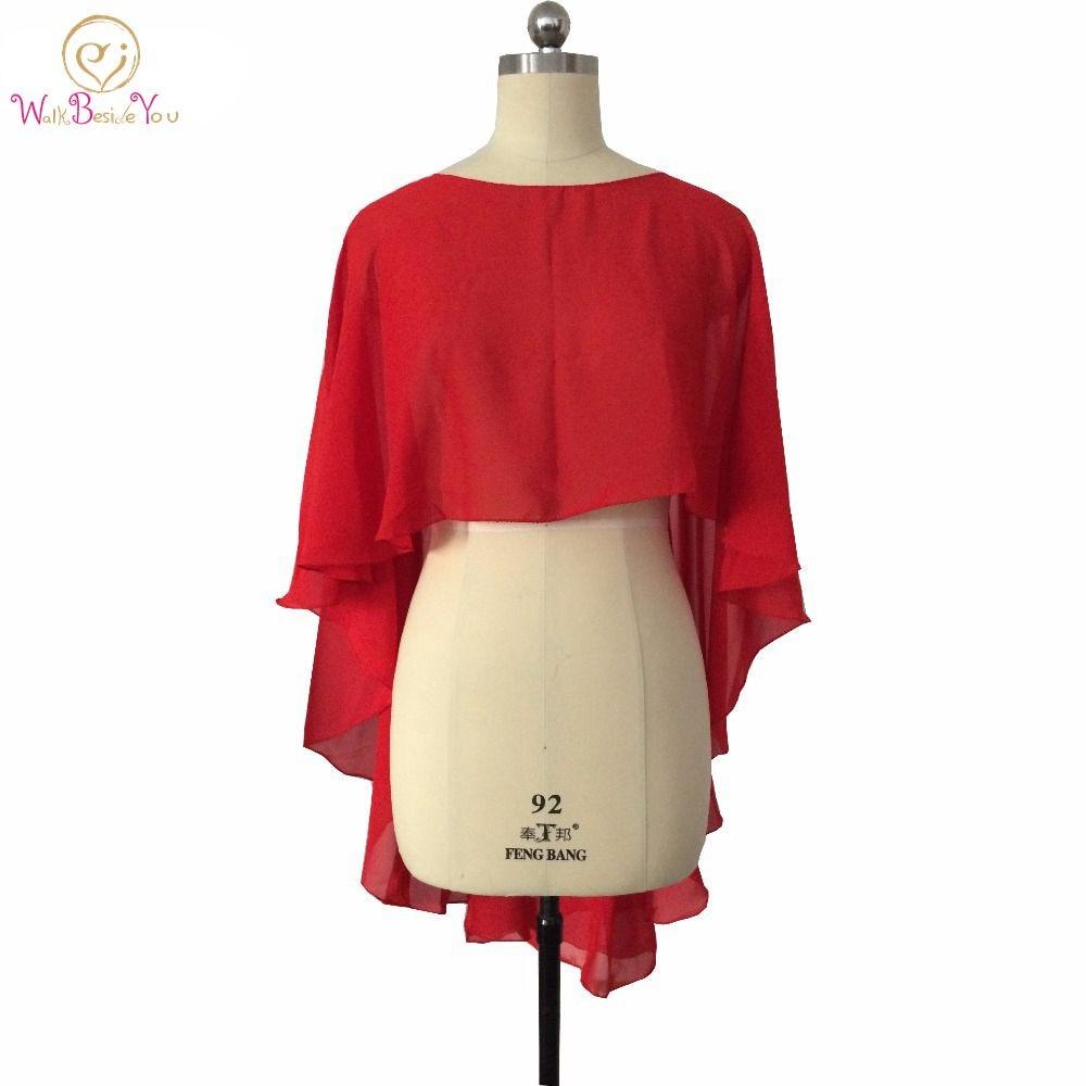 Bolero Rouge Mariage en ce qui concerne livraison gratuite mariée en mousseline de soie bolero femmes