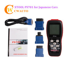 XTOOL PS701 OBD2 Code Reader Japanese Cars Diagnost Tool PS 701 Scanner Supports Testing All Electronic Control System