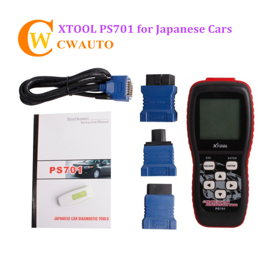 XTOOL PS701 Scanner OBD2 Code Reader Japanese <font><b>Cars</b></font> Diagnost <font><b>Tool</b></font> PS 701 Scanner Supports Testing All <font><b>Electronic</b></font> Control System image
