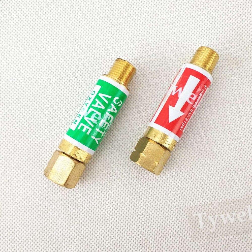 Flammensperre Sauerstoff Acetylen/Kraftstoff Sicherheitsventil Flamme Buster 9/16