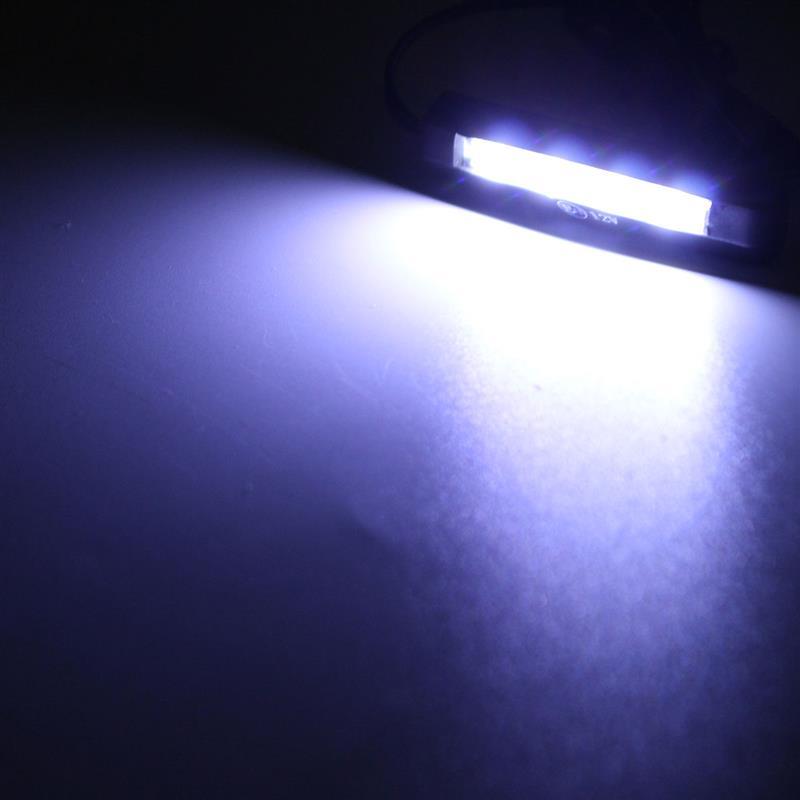 Светодиодный мини-светильник для автомобиля, мотоцикла, заднего номерного знака, 12 В, 4 светодиодный
