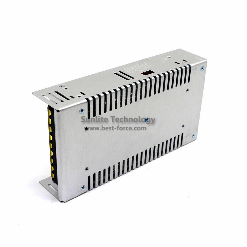 Малый объем один Выход импульсный источник питания 12 V 50A 600 Вт импульсный трансформатор AC110V 220 V постоянного тока до DC12V импульсивный источник питания для Светодиодный свет лампы CCTV AV