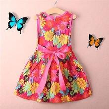 HOT! Toddler Kids Girls Summer Princess Floral Lace Pierced Party Dress
