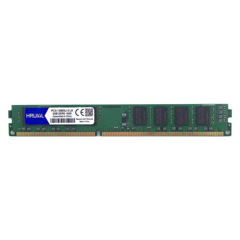 HRUIYL メモリ Ram DDR3 4 ギガバイト 8 ギガバイト 2 ギガバイト 1066mhz 1333mhz 1600MHZ PC3-8500U PC3-10600U PC3-12800U デスクトップ PC メモリアラム DIMM 4 グラム 8 グラム 240 ピン