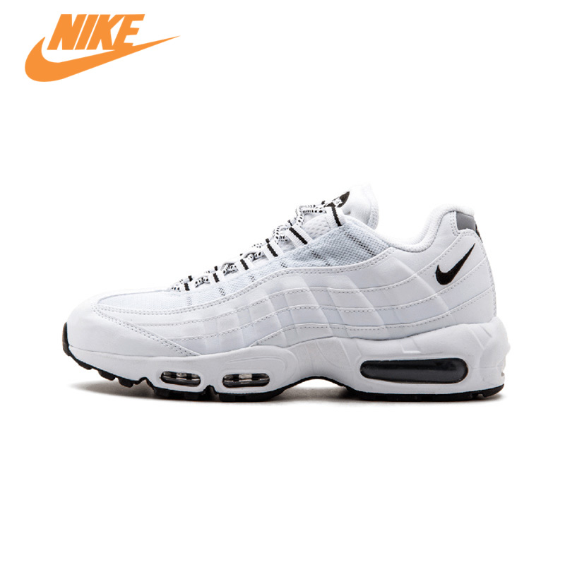 Original New Arrival Official NIKE AIR MAX 95 Men's Breathable Running Shoes Sports Sneakers Trainers original nike sneakers breathable air max motion lw women s running shoes beginner summer air mesh sports sneakers women shoes