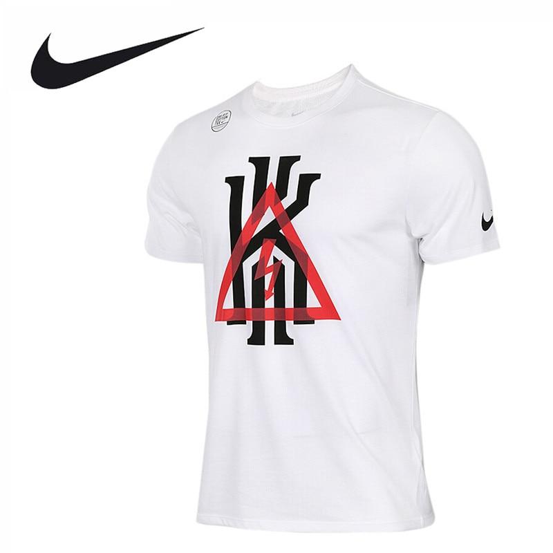 Nike Original New Arrival Official AS KI M NK DRY TEE TRIANGLE Men's T-shirts short sleeve Sportswear 917335-100 original new arrival 2017 nike as w nk dry mod tempo short em women s shorts sportswear