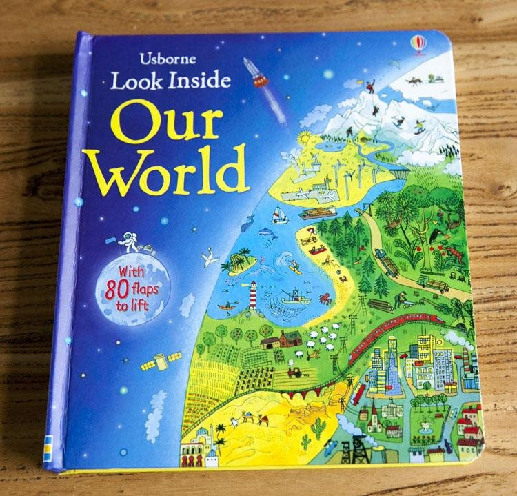 3D English Children Books Original Baby School Educational Supplies Picture Our World 80 Flaps Lift Gift For Kids airport english books children s 3d picture series looking through look inside kid original baby school educational supplies