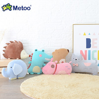 Kawaii Plush Stuffed Animal Cartoon Kids Toys for Girls Children Baby Birthday Christmas Gift Elephant Pillow Metoo Doll