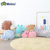 Kawaii Plush Wypchanych Zwierząt Kreskówki dla Dzieci Zabawki dla Dziewczynek Dzieci Słoń Poduszki Metoo Lalka Świąteczny Prezent Urodzinowy Dla Dzieci