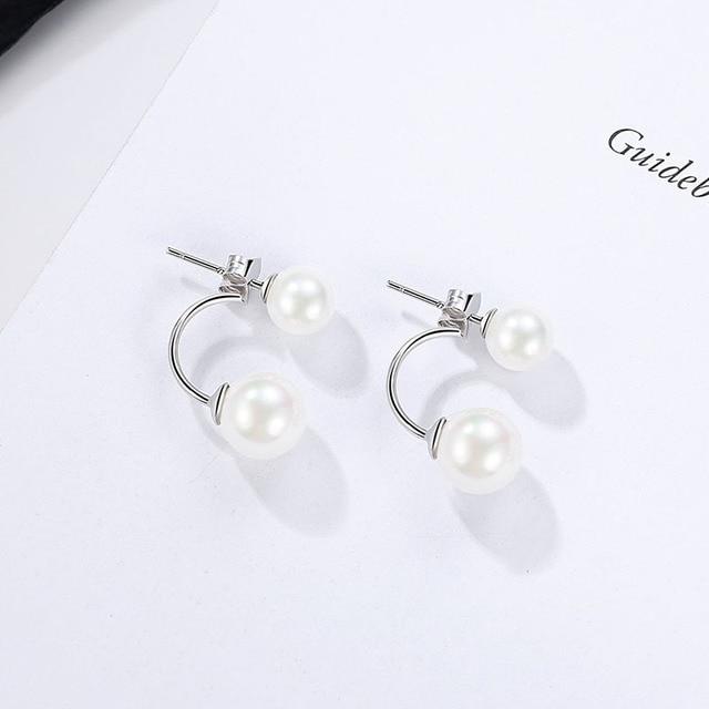 925 Sterling Silver Stud Earrings for women 1