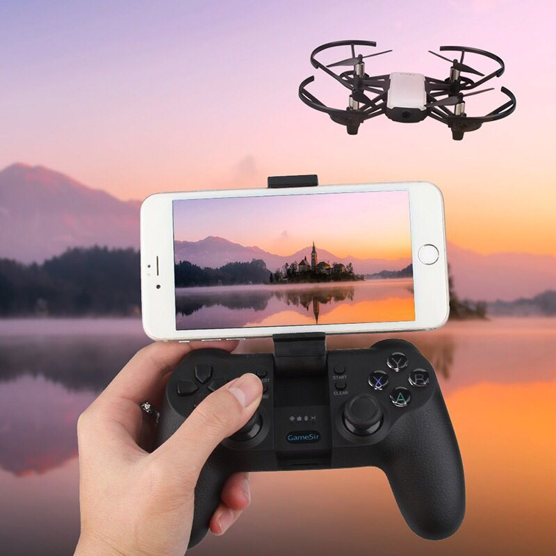 DJI tello GameSir T1 télécommande manette poignée pour ios7.0 + Android 4.0 + tello Drone accessoires également pour le fonctionnement du jeu