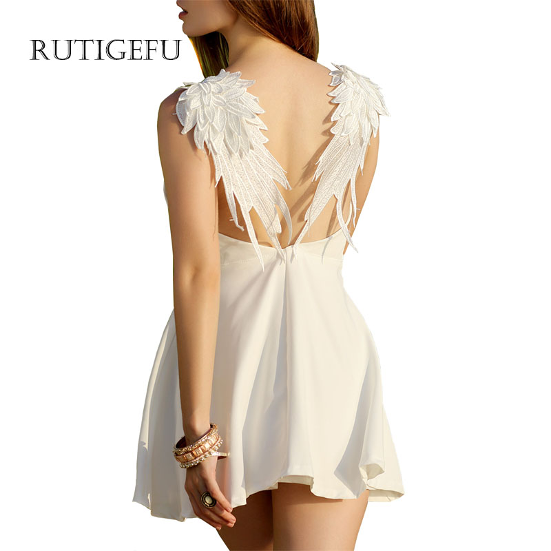 White Halter Summer Dress Promotion-Shop for Promotional White ...