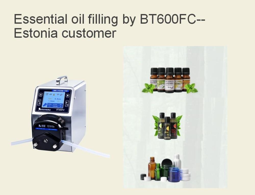 BT600FC filling essential oil