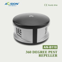 AN-B110 360 degree Ultrasonic flies roaches mosquito  repellent anti pest rejcet electronic mouse mice rat repeller