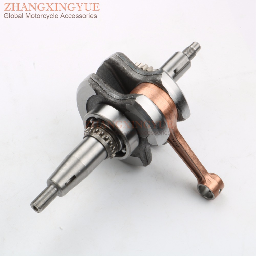High quality crankshaft for YAMAHA XT125R XT125X XT 125 X R YB125SPD YBR125ED 3D9-W1140-00