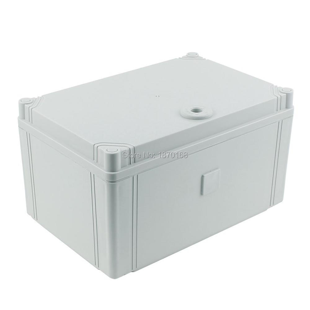 300mmx200mmx160mm Waterproof Junction Box DIY Terminal Connection Box Enclosure 4pcs a lot diy plastic enclosure for electronic handheld led junction box abs housing control box waterproof case 238 134 50mm