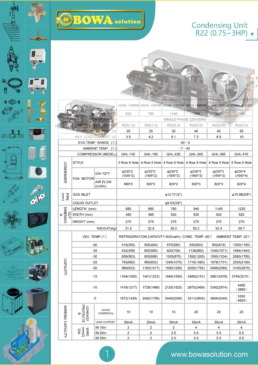 Condensing Unit R22Rotary