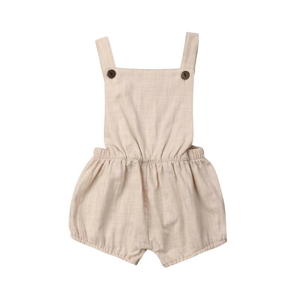 Infant Baby Boys Girls   Romper   Summer Newborn Baby Clothing Sleeveless Jumpsuit Playsuit Baby Sunsuit