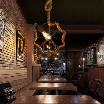 Antique Dining Tables | Iron Ball, Chandelier, Bar, Coffee Bar, Table Lamp, American Antique Industrial Wind Dining Room Dining Table Lamp