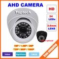 Cámara CCTV AHD 1.3MP 2MP 1MP CMOS Analógico de Cámaras de Seguridad 720 P 960 P 1080 P HD de La Visión Nocturna de Interior Cámara de vigilancia