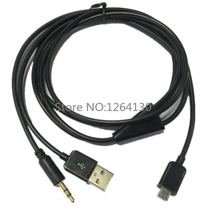 usb 2.0 adapter splitter to micro usb 5pin charger + car ... usb to audio jack wiring micro audio jack diagram #13
