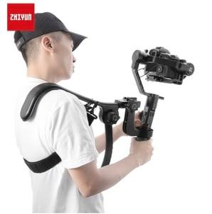 Image 2 - ZHIYUN Crane 2 Gimbal аксессуары поперечный плечевой держатель рукоятки Rig аналогичный Easyrig ReadyRig Atalas