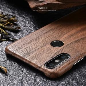 Image 5 - Per Xiaomi Mi 11 /POCO F3 F2 /mix 2s/mix 3 /mi 10 /9T/K40 Pro noce enonia legno bambù palissandro mogano Cover posteriore in legno