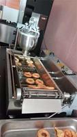Stainless steel automatic industrial mini donut machine made in china new product