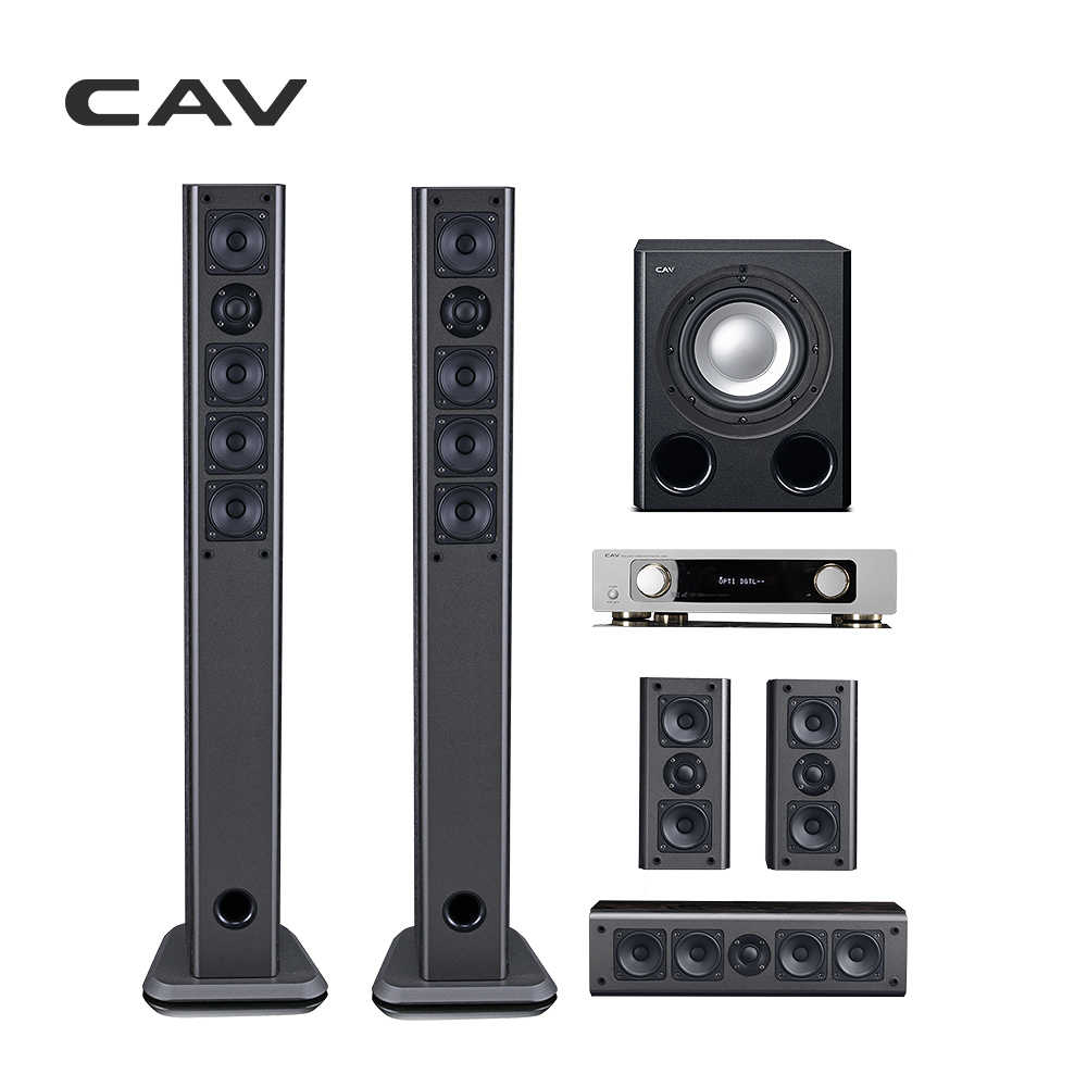 CAV IMAX Home Theater 5 1 System Smart Bluetooth Multi 5 1 Surround Sound  Home Theatre System 3D Surround Sound Music Center