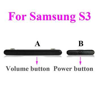 цена на 1pcs 5 colors available Power Volume Button Key for Samsung flex Galaxy S3 i9300 i9305 i535 i747 L710 T999