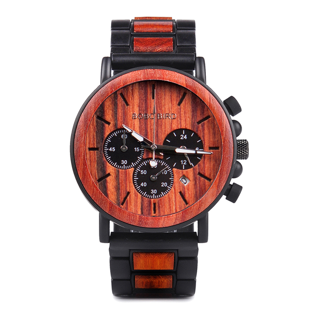 Wooden Watch Men Luxury Stylish 4