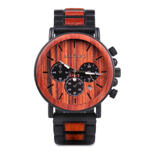 WSW Wood-Style Watches  – Men Luxury in Wood Gift Box