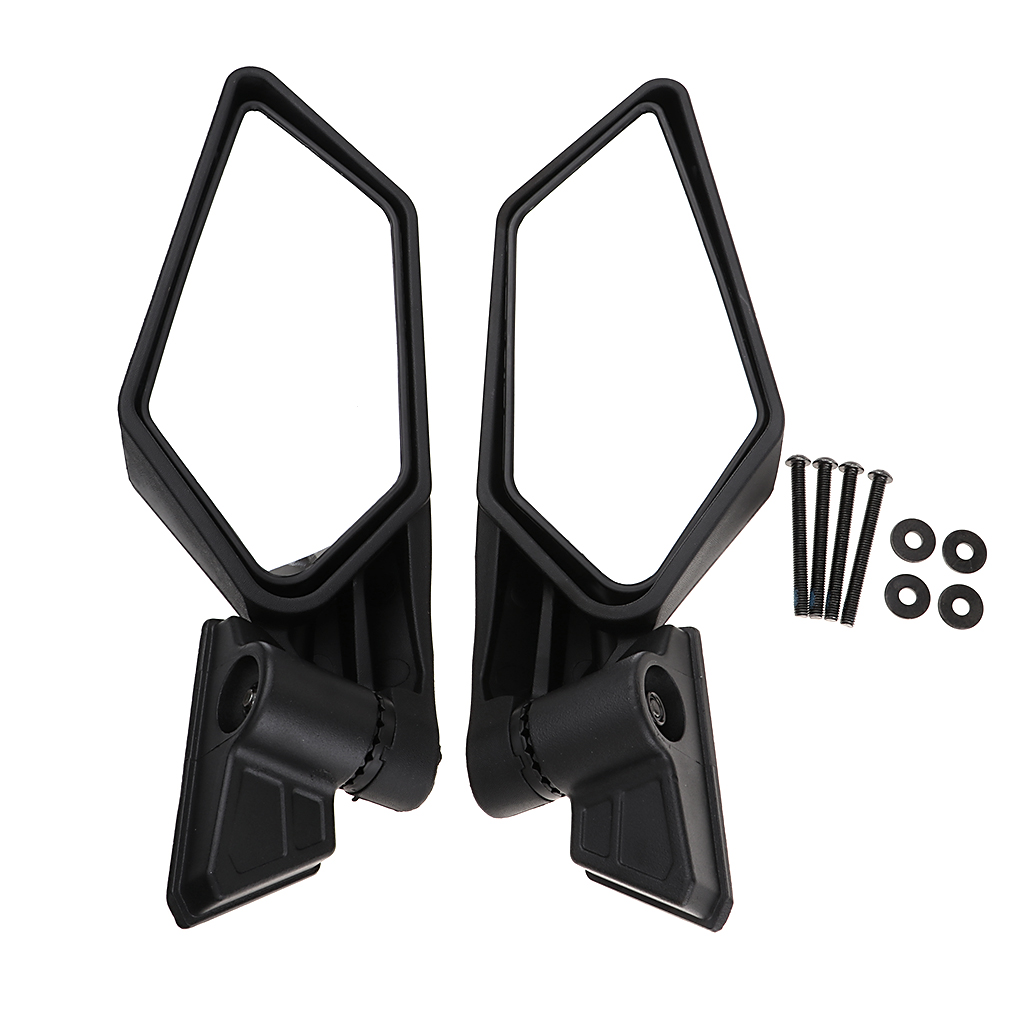 Side View Mirrors Rear View Race Mirrors for Can Am Maverick X3 4x4 2017 18