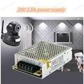 Высокая Quality35W 24 В 1.5A Переключатель Импульсный Источник Питания для CCTV камеры для Системы Безопасности