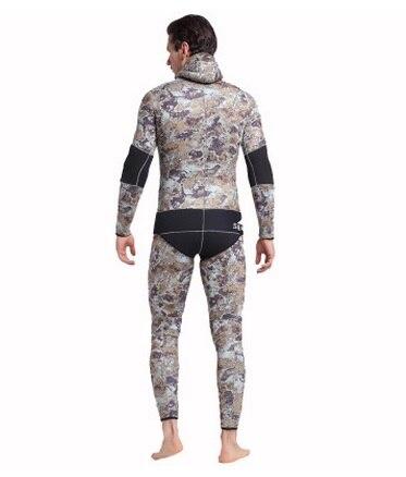 Mannen Hooded Neopreen 5 MM Scuba Nat Duikuitrusting Snorkelen - Sportkleding en accessoires - Foto 4