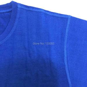 Image 2 - T shirt en laine mérinos à manches courtes pour hommes, poids moyen 180GSM, 5 couleurs, adapté à laméricaine