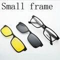 Shiping libre ultraligero Gafas Pequeña Caja imán Clip de gafas de Sol de La Miopía Gafas de Sol Polarizadas Nvgs vasos Pequeños