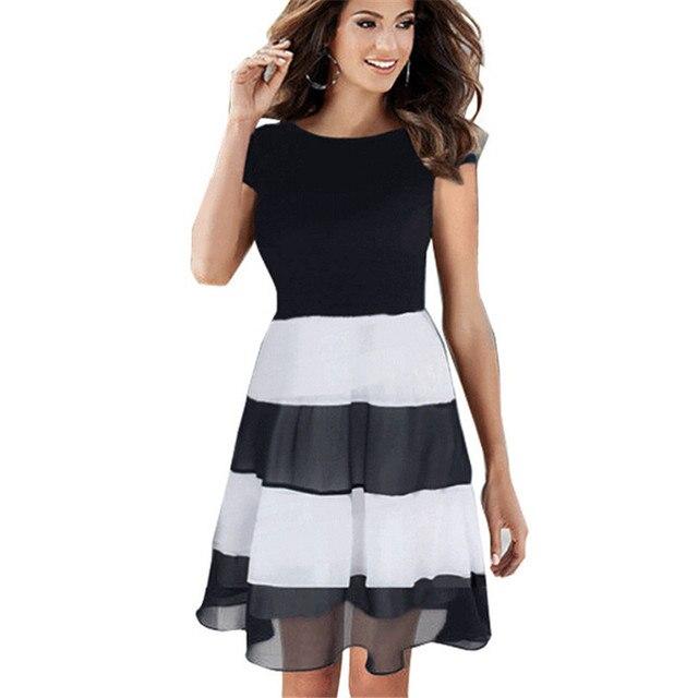 Fashion Brand Dresses Women Design Plus Size Dress Sleeveless Party