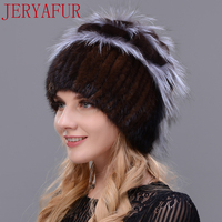 Real rabbit fur cap new women winter warm hat troll hat fox fur four colors free shipping