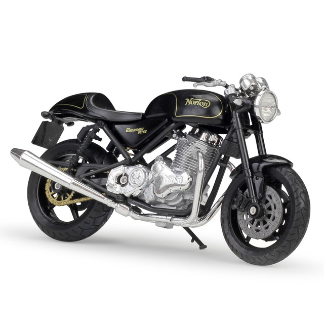 Welly 1:18 Norton Komando 961 SE Diecast Motosiklet