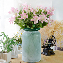 1 букет 3 ветви искусственные шелковые цветы лотоса для свадьбы дома и сада цветы искусственные цветы украшения юбилей самодельный декоративный дизайн