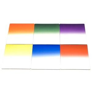 Image 4 - 1 Набор фильтров + кольцевой адаптер для cokin p серии LF142, 6 ND фильтров + 6 шт градиентный цветной фильтр + 9 шт кольцевой адаптер